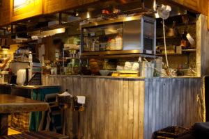 BONDI CAFE キッチン