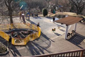 都立桜ケ丘公園の児童公園