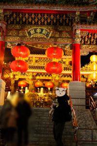 関帝廟のテバちゃん
