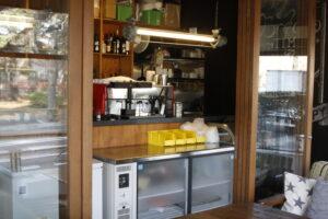 コマザワパークカフェのキッチン